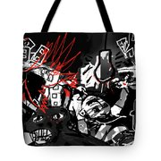 Worshippers Of The Beast Wage War On The Lamb Tote Bag