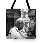Worth Ave Reflections 0496 Tote Bag
