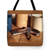 Would You Like A Little Pistol With Your Coffee Tote Bag