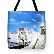 Wounded Amazon Tote Bag