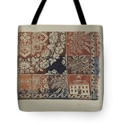 Woven Coverlet Tote Bag