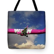 Wow Air Airbus A321-211 Tote Bag