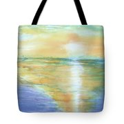 Wow Sunset Tote Bag