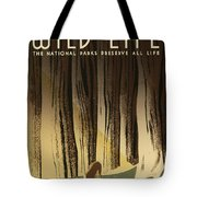 Wpa Wildlife 2 Tote Bag