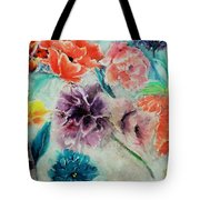 Wrap It Up In Spring By Lisa Kaiser Tote Bag