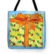 Wrapped Gift Tote Bag
