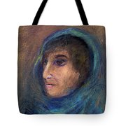 Wrapped In A Shawl Tote Bag