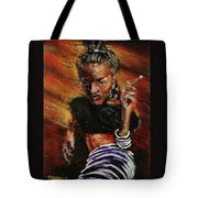 Wrapped In Smoke Tote Bag
