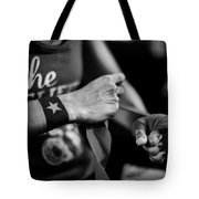 Wrapping Hands Tote Bag