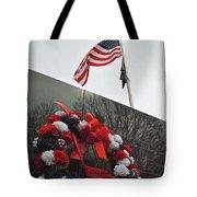 Wreath Of The Korean War Tote Bag