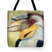 Wreathed Hornbill  Tote Bag