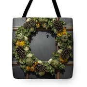 Williamsburg Wreath 21b Tote Bag