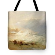 Wreckers - Coast Of Northumberland Tote Bag