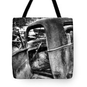 Wrecking Yard Study 11 Tote Bag
