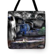 Wrecking Yard Study 12 Tote Bag