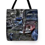 Wrecking Yard Study 13 Tote Bag