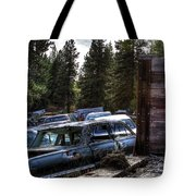 Wrecking Yard Study 22 Tote Bag