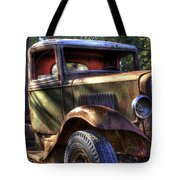 Wrecking Yard Study 24 Tote Bag