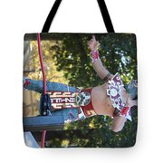Wrestler Day Of Dead  Tote Bag