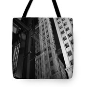 Wrigley Building Reflections Tote Bag