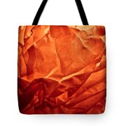 Wrinkled Passion Tote Bag