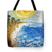 Writhing Sea Tote Bag