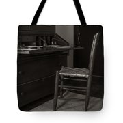 Writing Desk Tote Bag