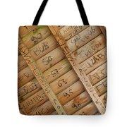 Writings On Wood Tote Bag