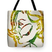 Written In Stone Tote Bag