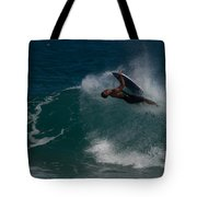 Wrong Side Up Tote Bag