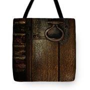 Wrought Iron Door Latch Tote Bag