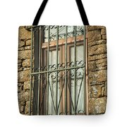 Wrought Iron - Glass - Stone Tote Bag