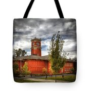 Wsu's Bryan Hall - Pullman Washington Tote Bag