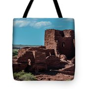 Wukoki Pueblo Ruins Wupatki National Monument Tote Bag