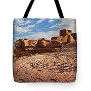 Wukoki Rock Swirl Tote Bag