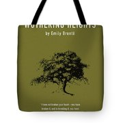 Wuthering Heights Greatest Books Ever Series 017 Tote Bag