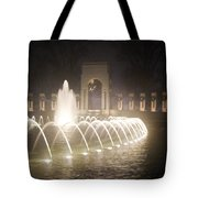 Ww 2 Memorial Fountain Tote Bag