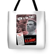 Ww2 Army Recruiting Poster Tote Bag