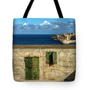 Ww2 Fortification Door Tote Bag