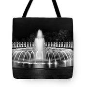 Ww2 Memorial Fountain Tote Bag