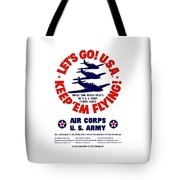 Us Army Air Corps - Ww2 Tote Bag