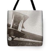 Wwi: British Bomber Tote Bag