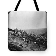 Wwi: French Attack Tote Bag
