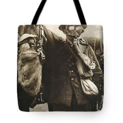 Wwi: Gas Warfare Tote Bag