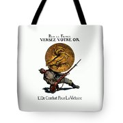 Wwi Gold For French Victory Tote Bag