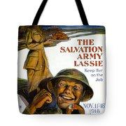 Wwi Poster Tote Bag