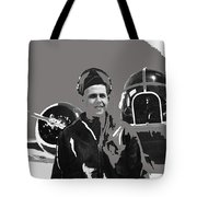 Wwii Bombadier Jack H. Gowan Unknown Location  1942 Color Added 2016 Tote Bag