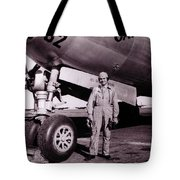 Wwii, Paul Tibbetts, Usaf Officer Tote Bag