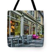 Wyndham Arcade Cafe 3 Tote Bag