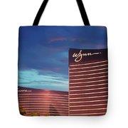 Wynn And Encore In Las Vegas Tote Bag